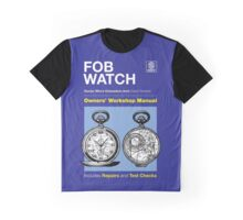 Owners' Manual - Fob Watch - T-shirt Graphic T-Shirt