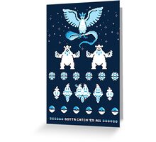 Such an Ice Sweater Greeting Card