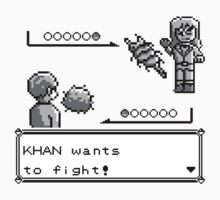Khan Wants to Fight! Kids Tee