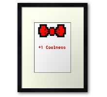 Bowtie of Coolness Framed Print