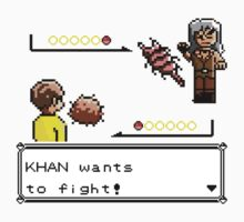 Khan Wants to Fight! Kids Clothes
