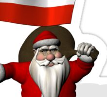 Santa Claus Visiting Of Austria Sticker