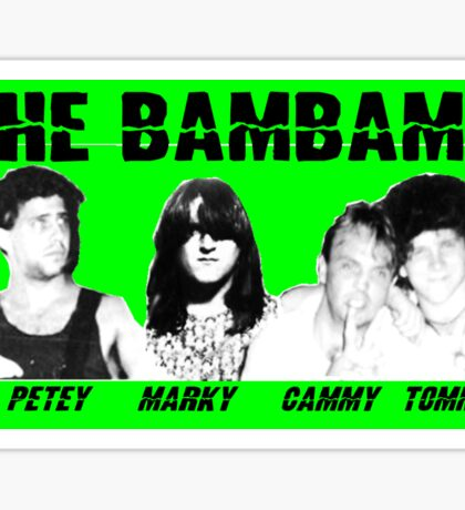 BamBams 80's Style  Sticker
