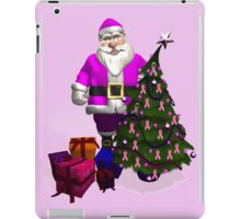 Santa Claus Dressed In Pink iPad Case/Skin