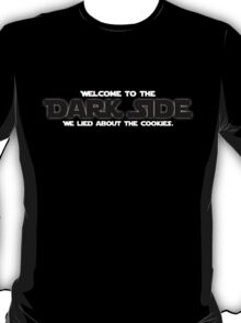 The cookies are a lie. T-Shirt