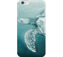 Green Turtle Surfacing - Grand Cayman iPhone Case/Skin