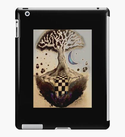 Pen and Ink Tree iPad Case/Skin