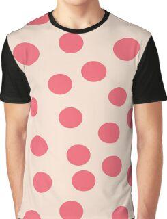 Polka pink Graphic T-Shirt