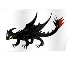 HTTYD Toothless Poster