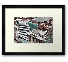 Clarkdale, Az - Turquoise Gem  Framed Print