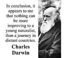 In Conclusion It Appears To Me - Charles Darwin Photographic Print