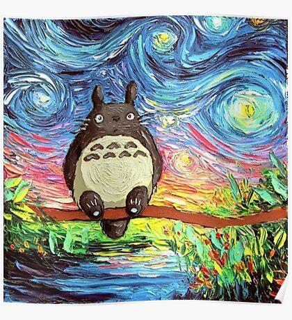 Art of Totoro - Studio Ghibli Poster