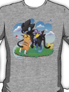 Luxray and Raichu T-Shirt