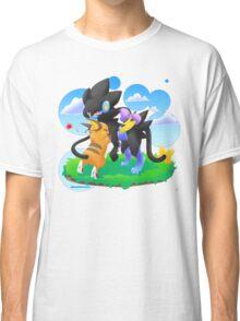 Luxray and Raichu Classic T-Shirt