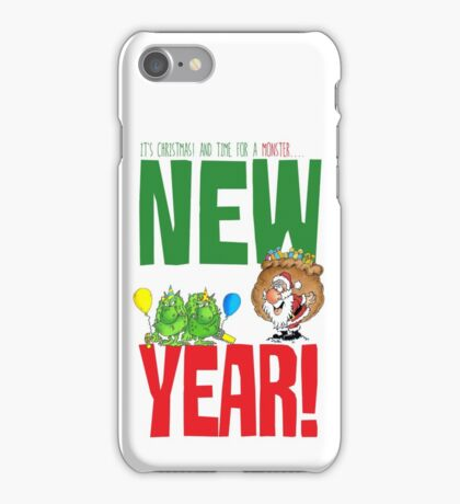 Happy  Monster New year iPhone Case/Skin