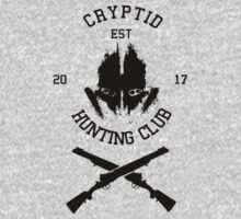 Cryptid Hunting Club (Black) by Nguyen013