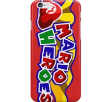 The Mario Heroes iPhone Case/Skin