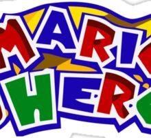 The Mario Heroes Sticker