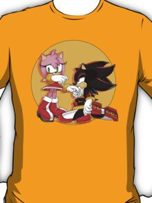 Amy Rose and Shadow T-Shirt