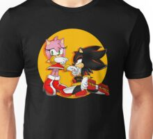 Amy Rose and Shadow Unisex T-Shirt