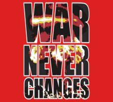 War Never Changes Kids Clothes