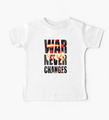 War Never Changes Baby Tee