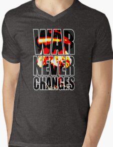 War Never Changes Mens V-Neck T-Shirt