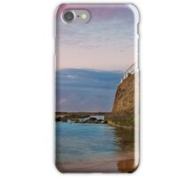 Nobbys Rock Wall iPhone Case/Skin