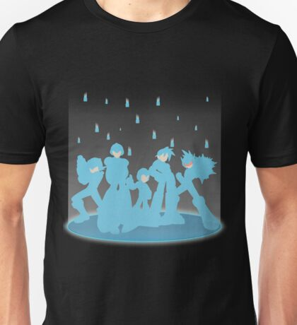 Blue Megaforce Unisex T-Shirt