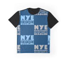 NYE Resolutions Graphic T-Shirt