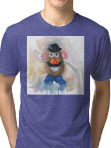 Mr Potato Head - vintage nostalgia  Tri-blend T-Shirt