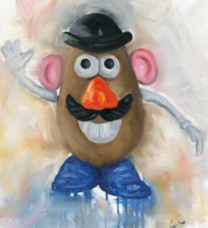 Mr Potato Head - vintage nostalgia  Sticker