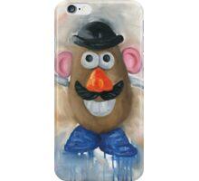 Mr Potato Head - vintage nostalgia  iPhone Case/Skin