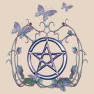 Pentacle Butterflies by LoneAngel