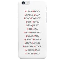 Phonetics iPhone Case/Skin