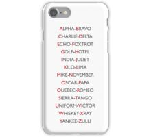 Phonetics iPhone Case/Skin