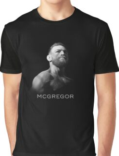McGregor - Black Cool Graphic T-Shirt