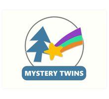 Mystery Twins Emblem Art Print
