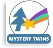 Mystery Twins Emblem Canvas Print