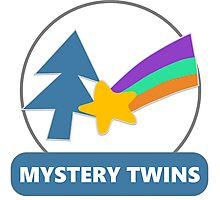 Mystery Twins Emblem Photographic Print