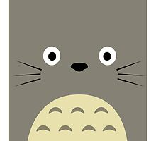 Totoro minimalist by LTEP