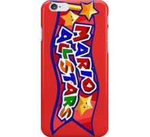The Mario All Stars iPhone Case/Skin