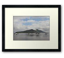 Holy Isle Framed Print