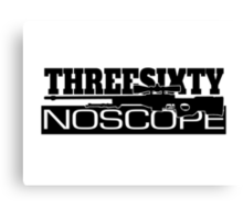CounterStrike 360 NoScope AWP Canvas Print