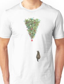 The  Only Tree thats Cat safe this Christmas  Unisex T-Shirt