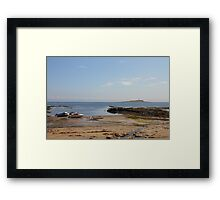 Pladda Lighthouse Framed Print
