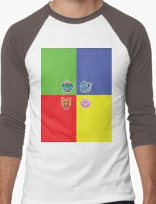 Pokemon Forever blue'n'red Men's Baseball ¾ T-Shirt