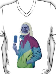 GAME OF THRONES 80/90s ERA CHARACTERS - White Walker T-Shirt