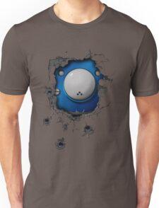 Bullet-riddled wall - Tachikoma Unisex T-Shirt