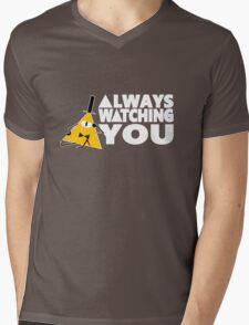 ALWAYS WATCHING YOU Mens V-Neck T-Shirt